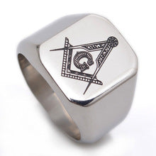 Load image into Gallery viewer, Titanium Stainless Steel Ring