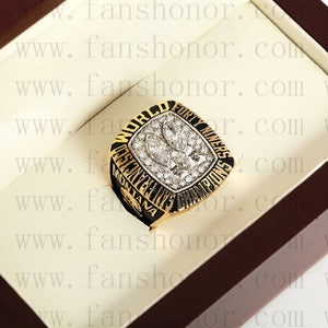 Customized San Francisco 49ers NFL 1984 Super Bowl XIX Championship Ring