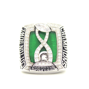 Custom Michigan State Spartans 2015 Cotton Bowl Classic (January) Championship Ring