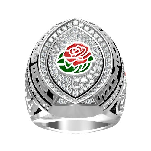 Custom Oregon Ducks 2015 Rose Bowl Championship Ring