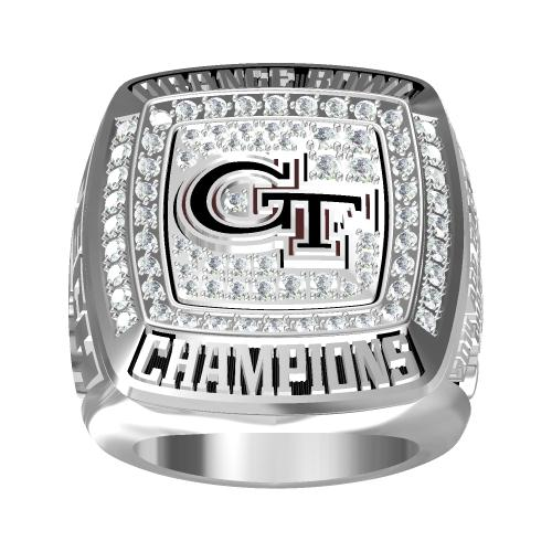 Custom 2014 Georgia Tech Yellow Jackets Orange Bowl(December) Championship Ring