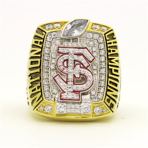 Custom FSU Florida State Seminoles 2013 Season National Championship Ring