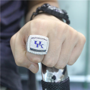 Custom Kentucky Wildcats 2012 National NCAA Division I Men's Basketball Championship Game Ring