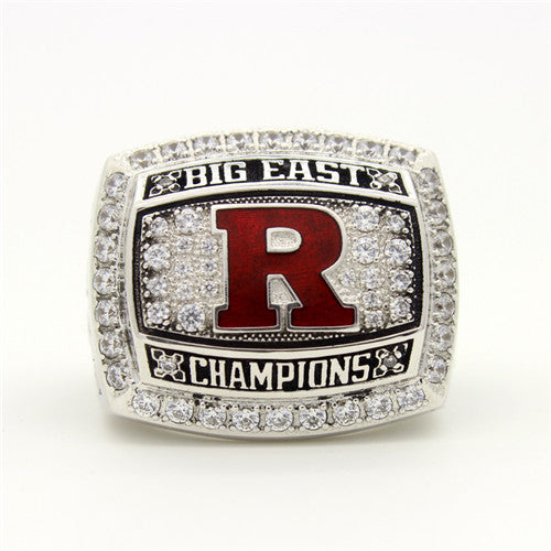 Custom Rutgers Scarlet Knights 2012 Big East Championship Ring