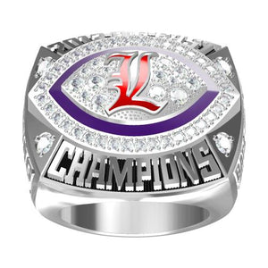 Custom Louisville Cardinals 2012 Big East Championship Ring