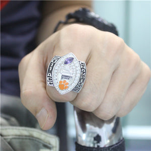 Custom Clemson Tigers 2011 ACC Championship Ring With Synthetic Amethyst