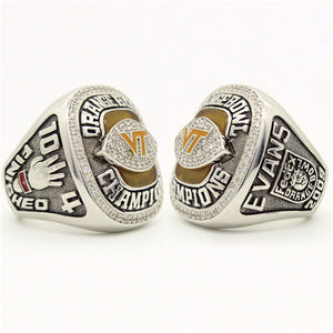 Custom Virginia Tech Hokies 2009 Orange Bowl Championship Ring