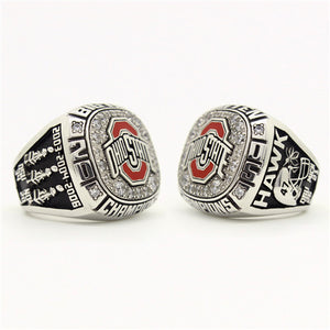 Custom OSU Ohio State Buckeyes 2005 Big Ten Championship Ring