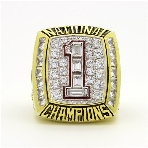 Custom Texas Longhorns 2005 National Championship Ring