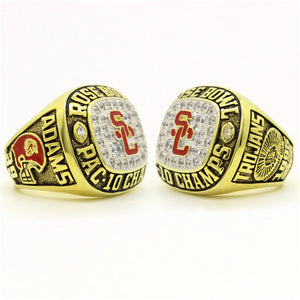 Custom USC Trojans 1996 Rose Bowl National Championship Ring