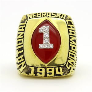 Custom Nebraska Cornhuskers 1994 National Championship Ring