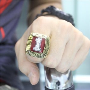 Custom 1991 Washington Huskies National Championship Ring