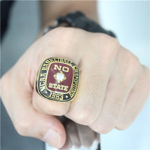 Custom NC State Wolfpack 1983 National Championship Ring