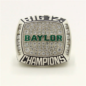 Custom Baylor Bears 2014 Big 12 Conference Football Season Championship Ring