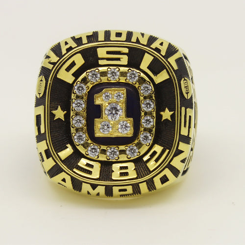 Custom Penn State Nittany Lions 1982 National Championship Ring