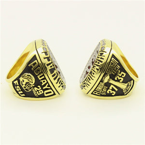 Custom Florida State Seminoles FSU 2014 ACC Atlantic Coast Conference Football Season Championship Ring