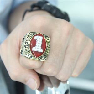 Custom Miami Hurricanes 2002 National Championship Ring