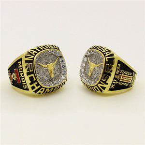 Custom Texas Longhorns 2002 National Championship Ring