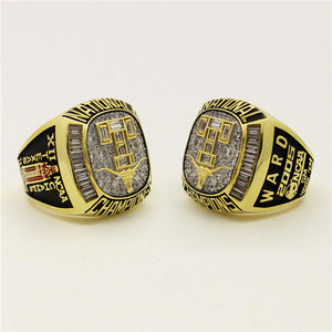 Custom Texas Longhorns 2005 Baseball National Championship Ring