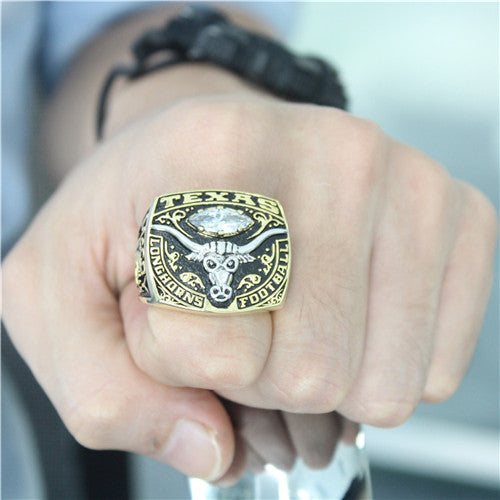 Custom Texas Longhorns 2007 Holiday Bowl Championship Ring