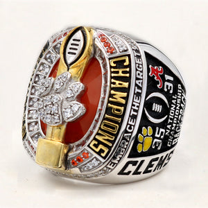 Clemson Tigers 2016 Season College Football Playoff National Championship Ring
