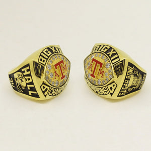 Custom Texas A&M Aggies 1998 Big 12 Championship and Sugar Bowl ring