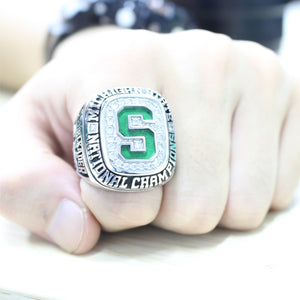 Custom Michigan State Spartans 2007 National Championship Ring