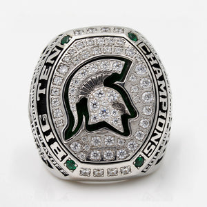 Custom Michigan State Spartans 2015 Big Ten Conference Football Season Championship Ring