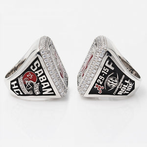 Custom Alabama Crimson Tide 2015 SEC Southeastern Conference Football Season Championship Ring