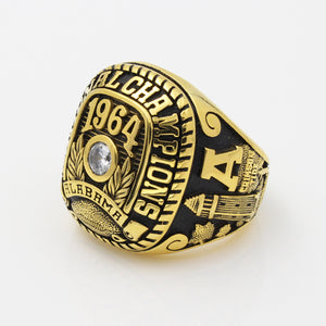 Alabama Crimson Tide 1964 National Championship Ring