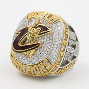 Cleveland Cavaliers 2016 NBA Finals National Basketball World Championship Ring