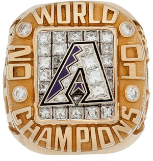 Arizona Diamondbacks 2001 World Series MLB Championship Ring