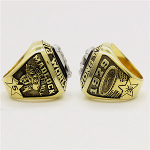 Pittsburgh Pirates 1979 World Series MLB Championship Ring With Black Obsidian
