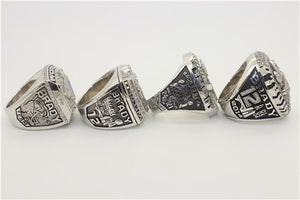 New England Patriots 2001-2003-2004-2014 Super Sowl Championship Ring Collection