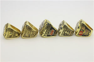 San Francisco 49ers 1981-1984-1988-1989-1994 Super Sowl Championship Ring Collection