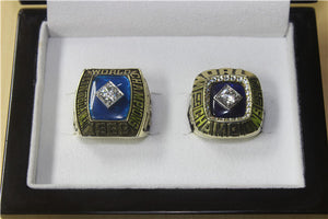 New York Mets 1969-1986 World Series MLB Championship Ring Collection