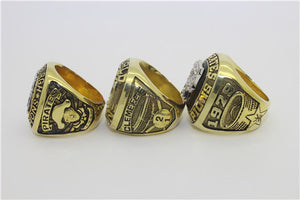 Pittsburgh Pirates 1960-1971-1979 World Series MLB Championship Ring Collection