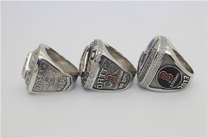 Boston Red Sox 2004-2007-2013 World Series MLB Championship Ring Collection