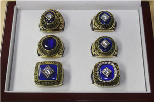 Los Angeles Dodgers 1955-1959-1963-1965-1981-1988 World Series MLB Championship Ring Collection
