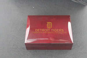 Detroit Tigers 1968-1984 World Series MLB Championship Ring Collection