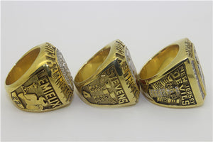 New Jersey Devils 1995-2000-2003 Stanley Cup Finals NHL Championship Ring Collection