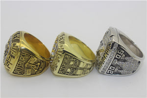 Pittsburgh Penguins 1991-1992-2009 Stanley Cup Finals NHL Championship Ring Collection