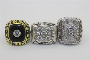 Boston Bruins 1970-1972-2011 Stanley Cup Finals NHL Championship Ring Collection