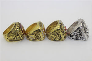 Detroit Red Wings 1997-1998-2002-2008 Stanley Cup Finals NHL Championship Ring Collection