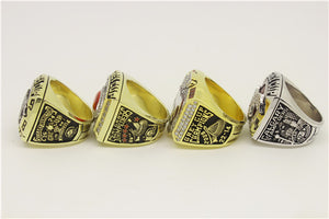 Calgary Stampeders 1998-2001-2008-2014 Grey Cup Championship Ring Collection