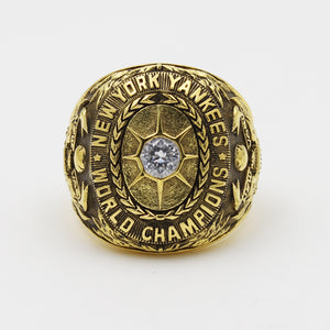 New York Yankees 1928 World Series MLB Championship Ring With Cubic Zirconia