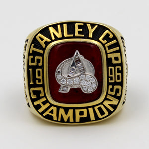 Colorado Avalanche 1996 Stanley Cup Finals NHL Championship Ring