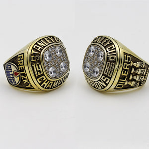 Edmonton Oilers 1988 Stanley Cup Final NHL Championship Ring