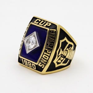 New York Islanders 1980 Stanley Cup Final NHL Championship Ring