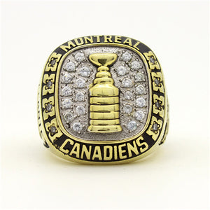 Montreal Canadiens 1958 Stanley Cup Final NHL Championship Ring